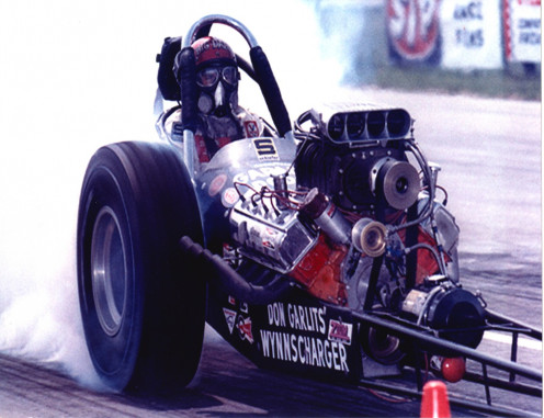 Garlits clean off the line.
