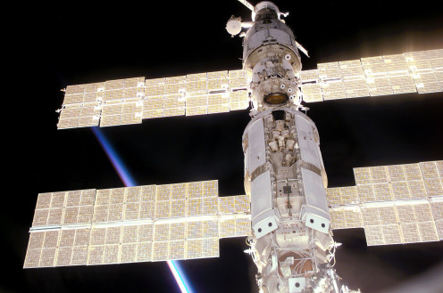Solar Panels on the International Space Station