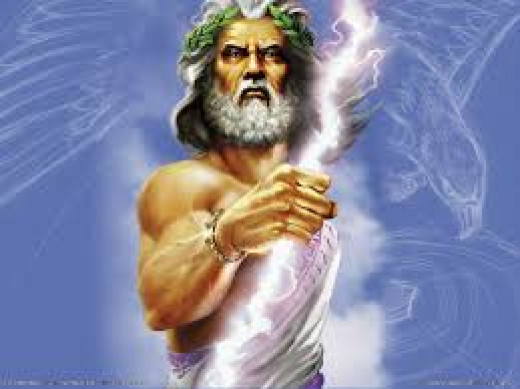 Jupiter king of the god's of mount Olympus, he was the first sun of the god Saturn, his brother Neptune was king of the sea and Pluto was king of the  underworld.