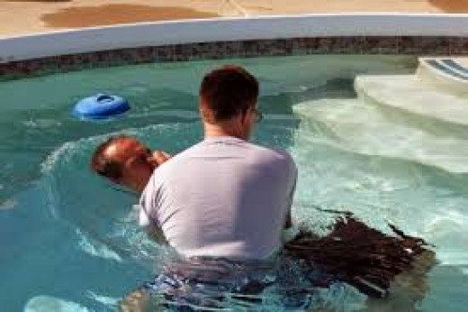 The one being baptized may need to repeat vows.