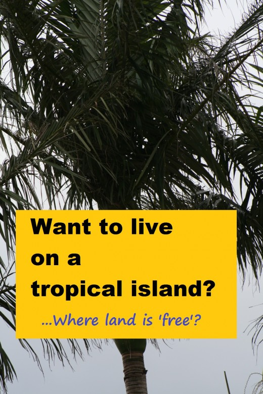 They are advertising 'free land' if you become a permanent resident on this Pacific island ... but the deal offered could be much better with a few important changes.