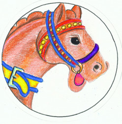 Create Classic Carousel Horse Fans