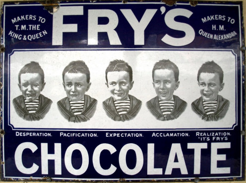 Early poster -Fryer's Chocolate