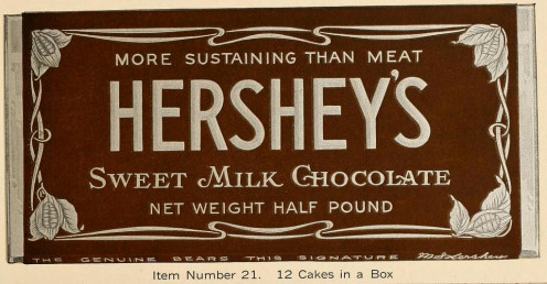 Early poster - Hershey's