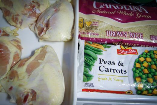 DIY Dog Food Ingredients