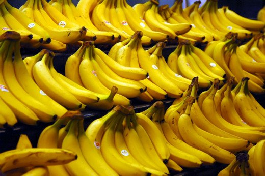 India produces more bananas than any other country on earth.