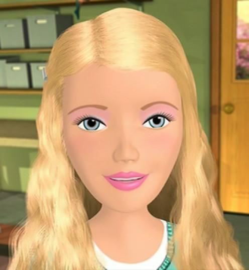 "Say hi to ""Barbie."""