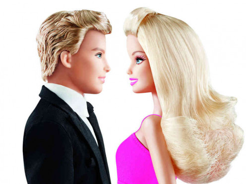 "Don't ""Ken"" and ""Barbie,"" look so good in their courting days?"