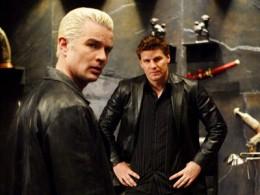 Angel and Spike