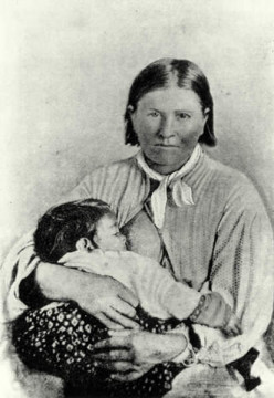Cynthia Ann Parker  - Comanche Heart and  Broken Spirit