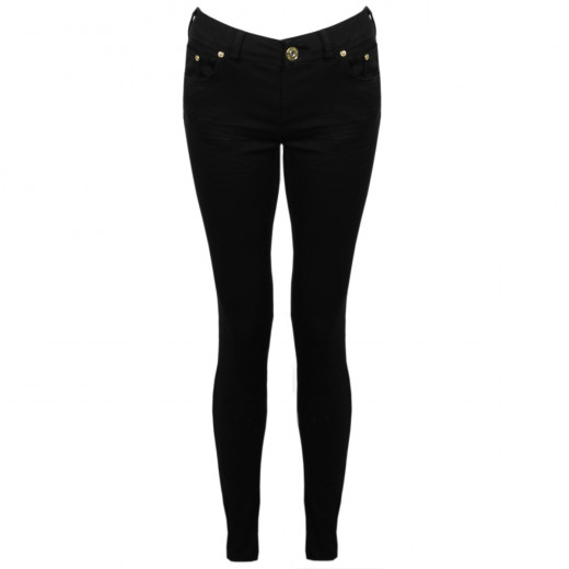 Black jeans are slimming and great for casual wear.