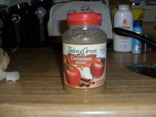 Applesauce (Whatever Brand you Prefer)