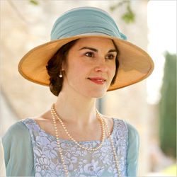 The award winning period drama, Downton Abbey has increased the popularity of hats.
