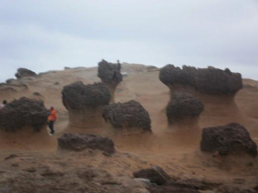 Yehliu rock formations