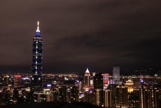 Taipei 101 @nightfall