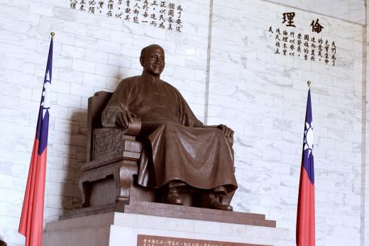 Chiang kai- Shek monument