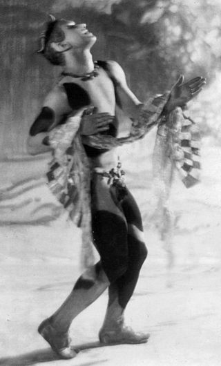 "Vaslav Nijinsky, seen by many critics as the most important dancer of the 20th century, was described as too sexy, etc. in ""Afternoon of a Faun."""