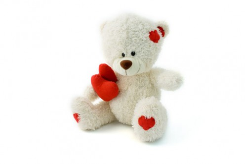 Cuddling the bear is comforting and helpful in lowering the stress level.