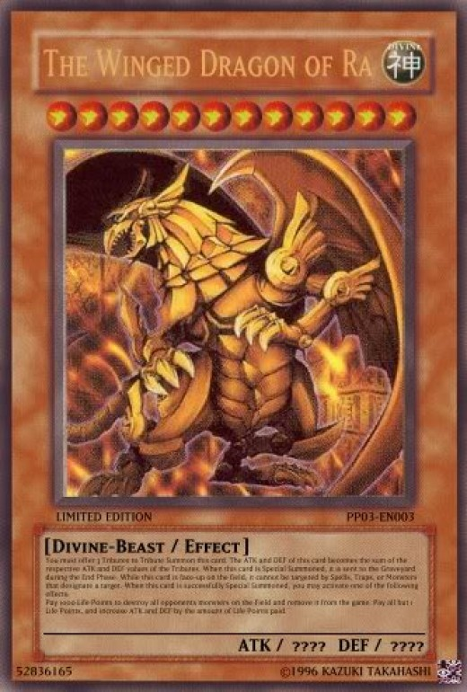The Divine-Beast, The Winged Dragon of Ra.