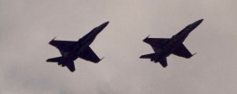 A pair of F/A-18 Hornets.  F/A-18s shot down two MiG-21s.  The first loss in Operation Desert Storm was an F/A-18 shot down by an Iraqi MiG-25.