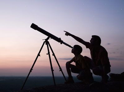 Telescopes enable us to view distant objects