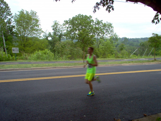 Half Marathon Runners (6 of many)