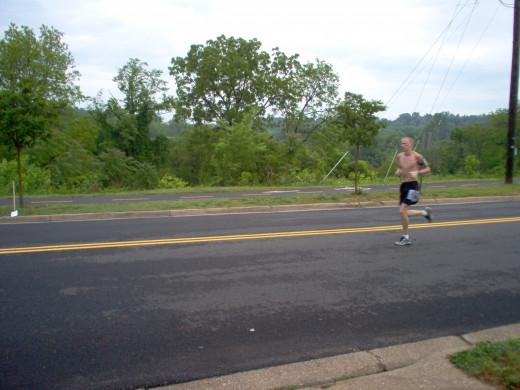 Half Marathon Runners (12 of many)