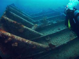 Benwood dive wreck