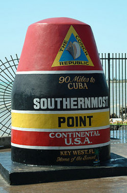 Southernmost point marker Key West