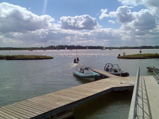 The beauty and serenity of the River Orwell in Suffolk County, England, provided the inspiration for Blair's famous pen name.