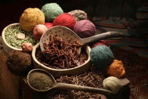 Natural Dye Sources
