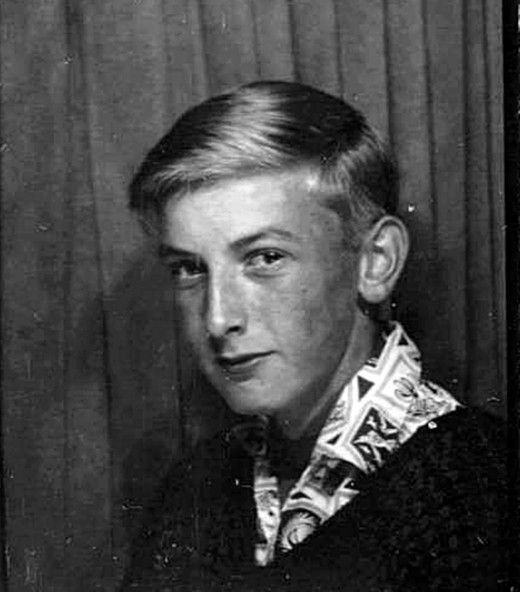 Eric in the 1960s.