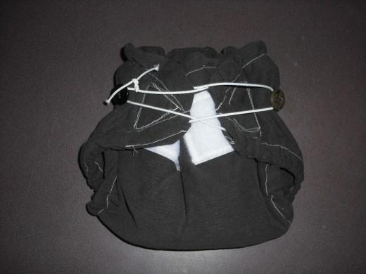 """""""Bunchies"""" t-shirt diaper"""