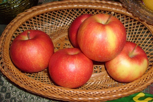 Apples are very healthy, especially if they aren't peeled. The peel contains pectin, which is converted to methanol inside our body.