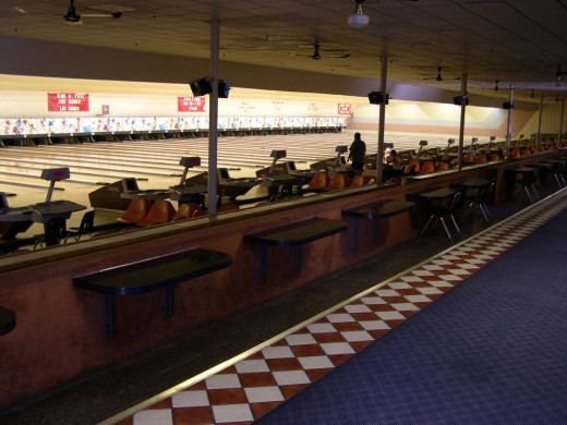 Bowling alleys can vary widely in size, and general lane conditions.