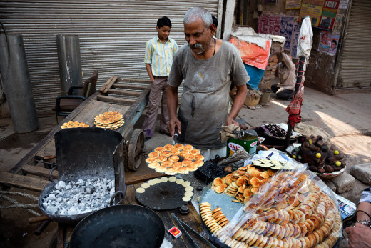 Unhygienic Street Food