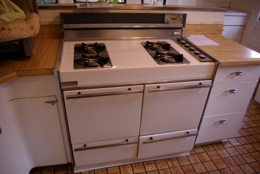 Crown gas stove