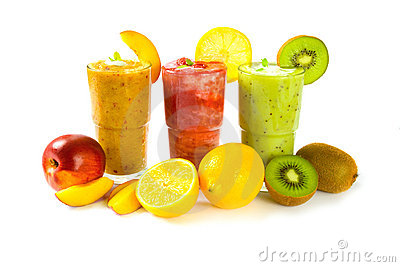 Drink a lot of healthy drinks