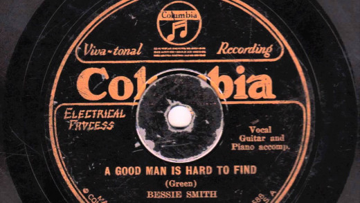 Mamie Smith initially sold over 100,000 copies on Okeh Records. This paved the way for Bessie with her very lucrative deal with Columbia Records with her first session in 1923.