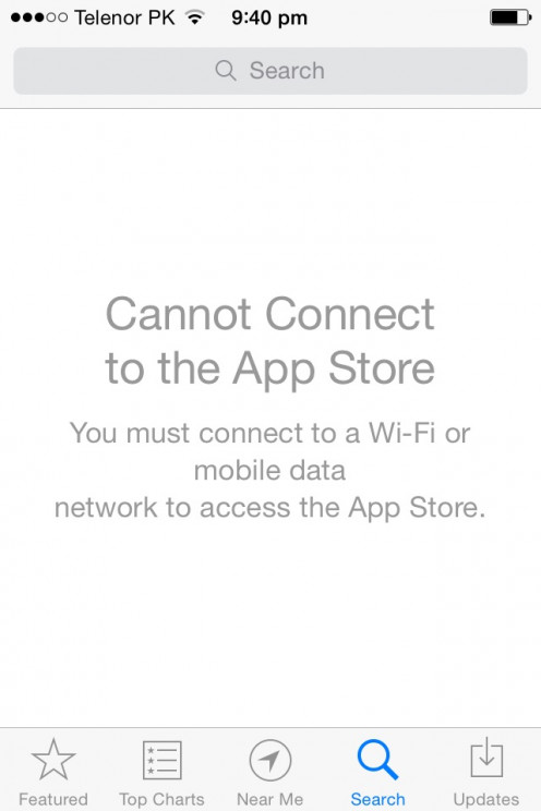 """Cannot connect to App Store"" is a Common Bug in Any iPhone."