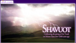 The Shavuot Holiday