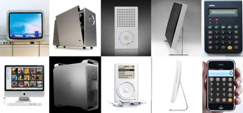 Old Braun & New Apple Products - Image: Gizmodo