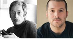 Dieter Ram & Jonathan Ive. Image from Gizmodo