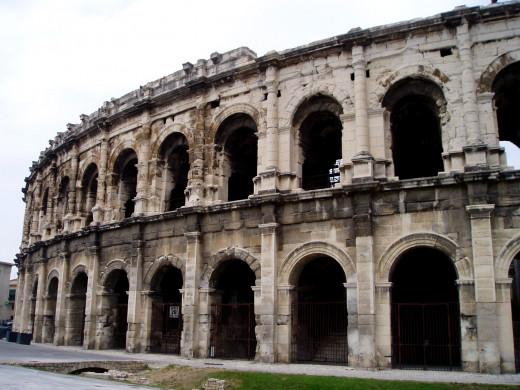 Nîmes Arena exterior