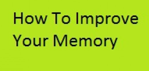 Improving your memory isn't as impossible as it seems. Simple things like eating right, exercising, getting adequate sleep, music, playing a few memory games and living a less stressful life can have you noticing results in no time.