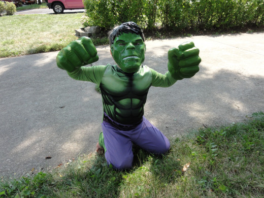 Everybody wants to be the Hulk.