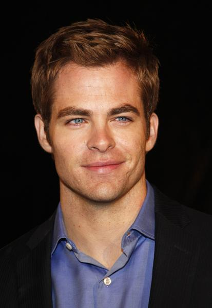 Chris Pine plays Captain Kirk