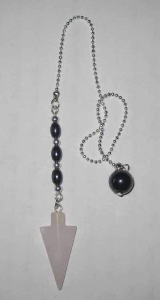 Finished hand crafted pendulum.
