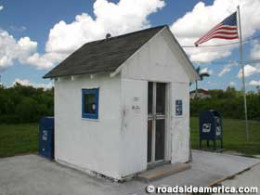 U.S. post office 7x8 feet - Ochopee