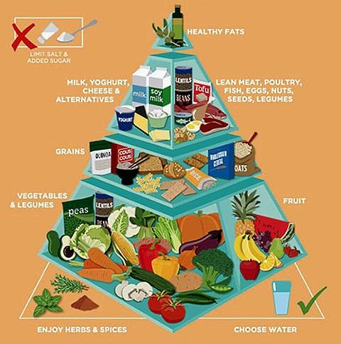 New Australian Food Pyramid